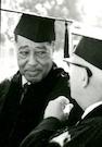 Duke Ellington and Buckminster Fuller, Honorary Degree recipients 1966