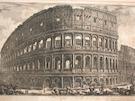 Veduta dell Anfiteatro Flavio, dello Colosseo