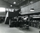 Interior of the Meyer Library on the CCAC campus.