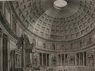 Veduta Interna del Panteon Volgarmente detto la Rotonda